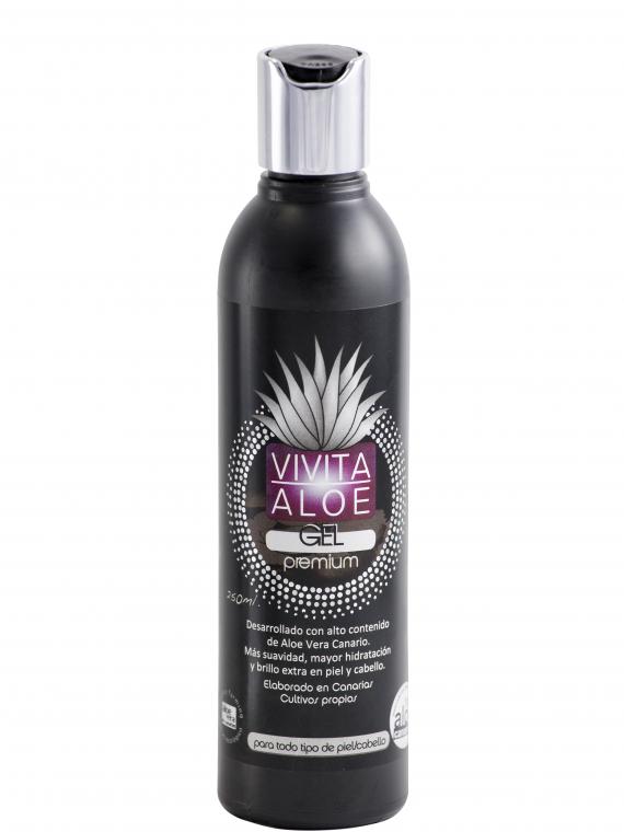 Gel premiun formulado alto contenido en Aloe Vera Ecológico de Canarias